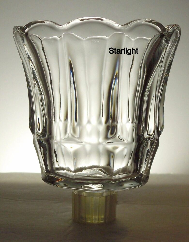 Home Interiors Starlight Clear Votive Cup W Rubber Grommet Ebay