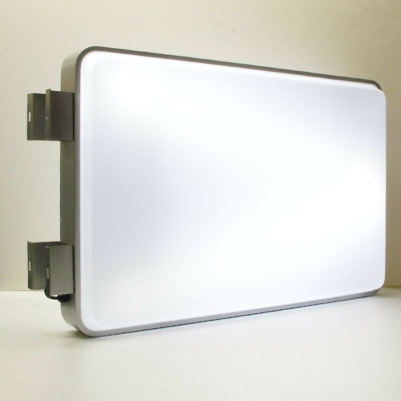 "Porch Light Box: 60x94CM 24""x37"" Rectangular Outdoor Illuminated Projecting"