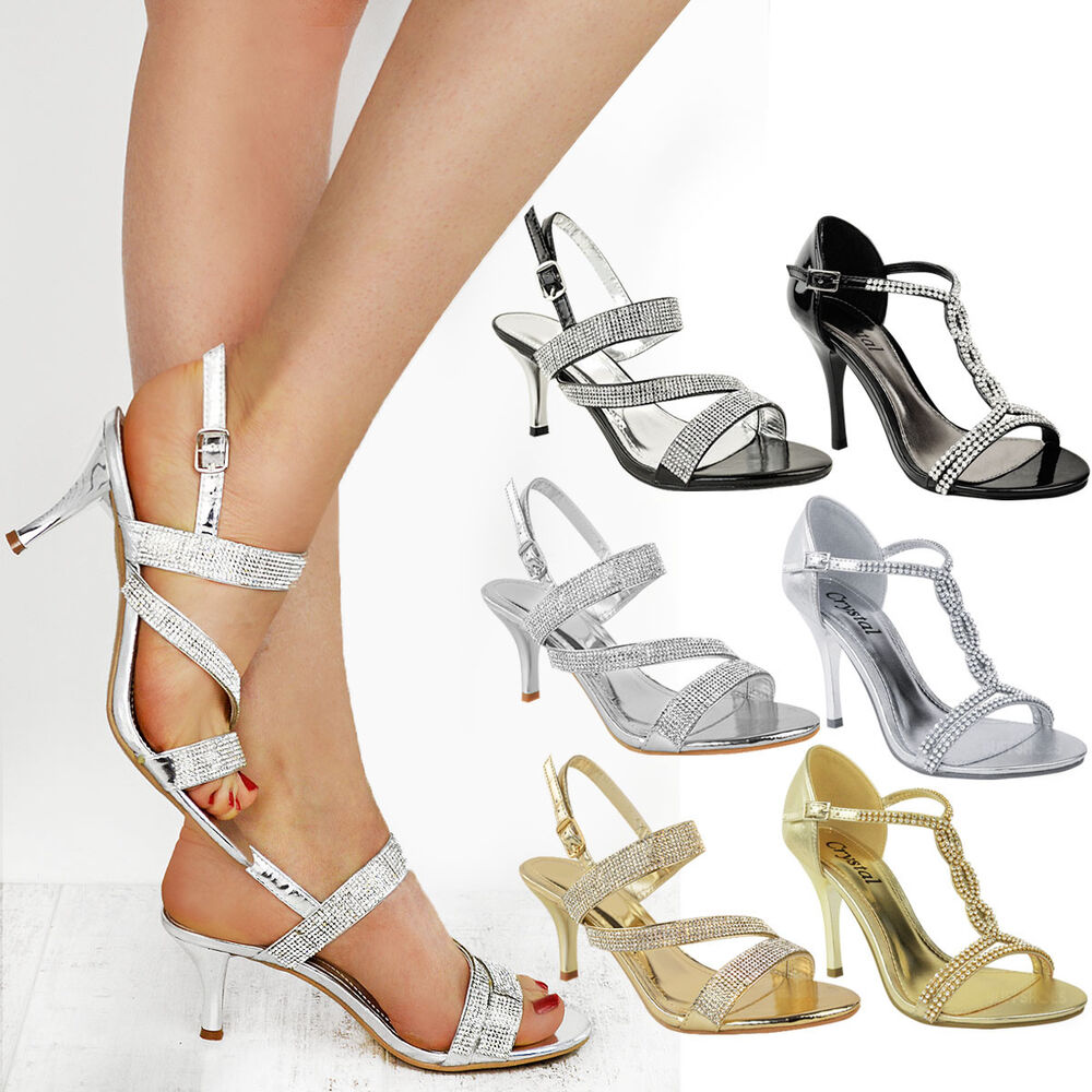 Medium Heeled Shoes For Womens
