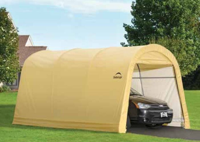 Shelterlogic 10x15x8 Round Auto Shelter Portable Garage