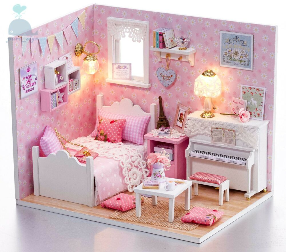 DIY Handcraft Miniature Project Dolls House My Little