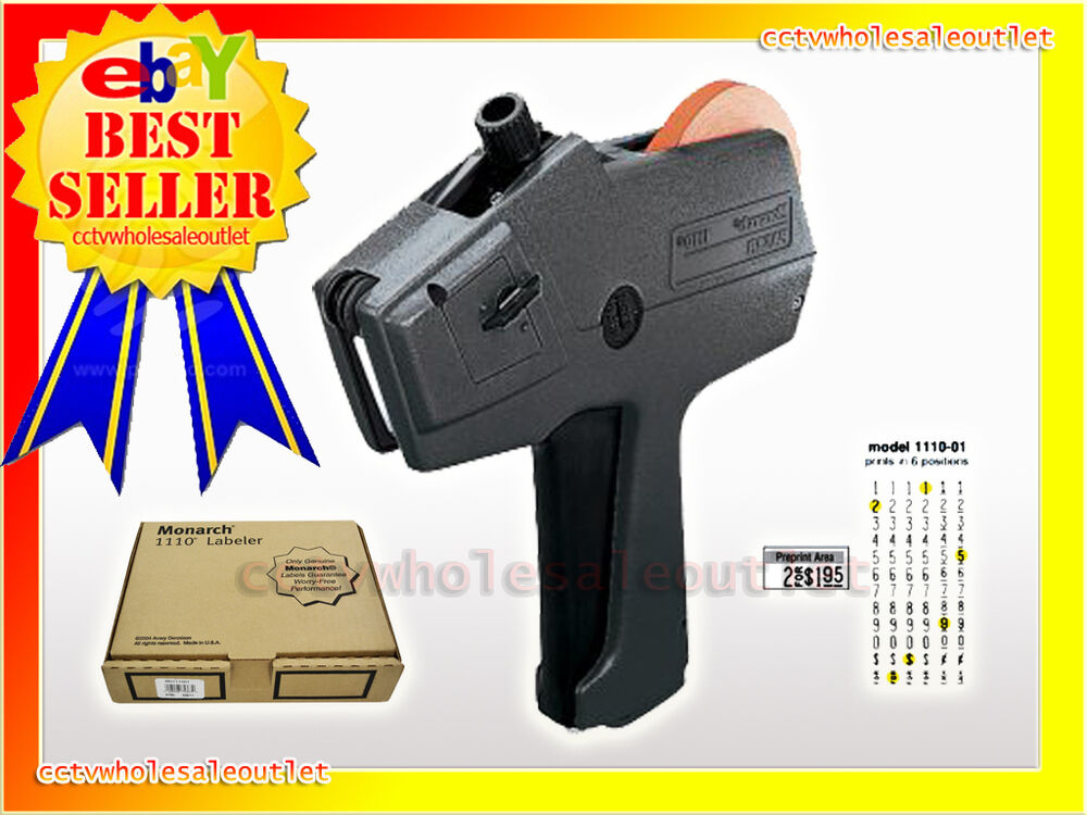 Genuine Brand New Monarch 1110 01 Price Gun Labeler Ebay