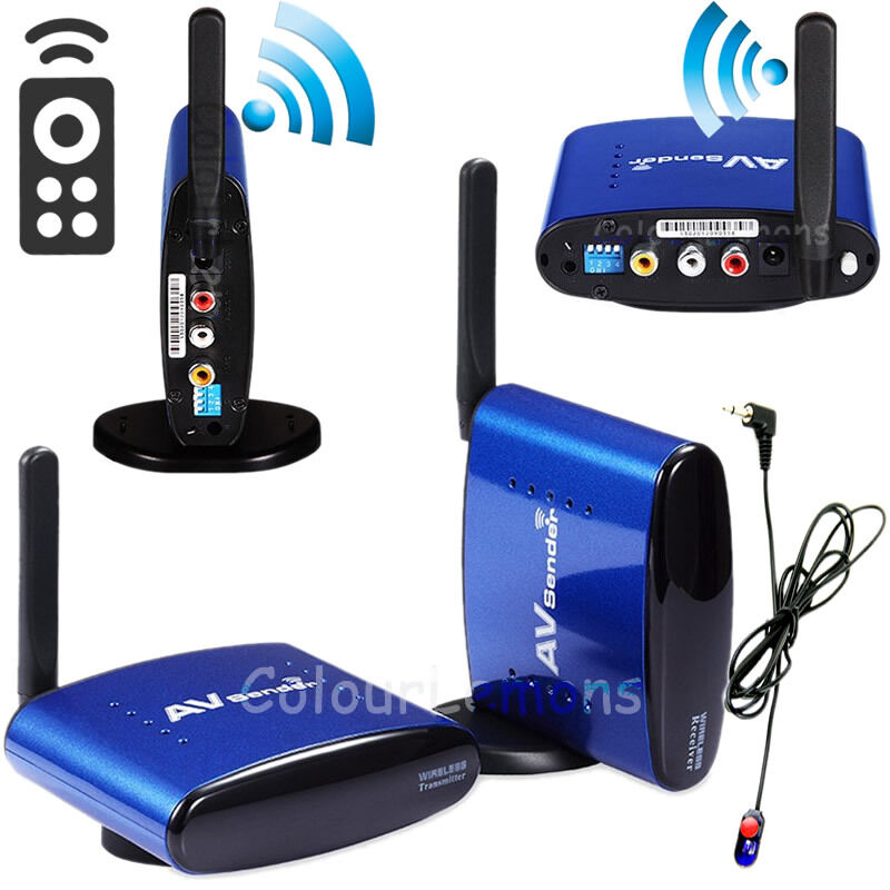 how to set up wireless tv transmitter