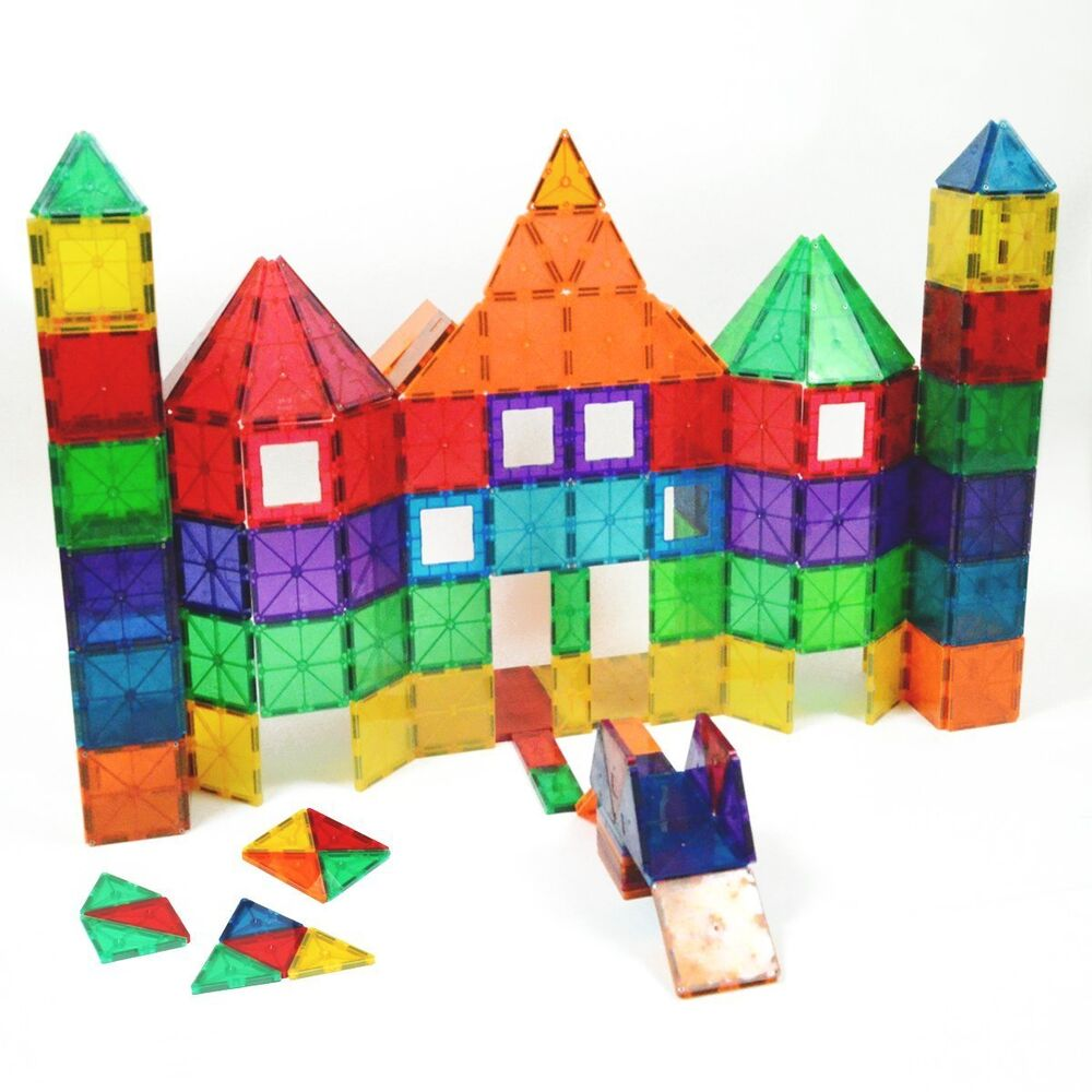 Playmags Magnetic Construction Tiles Building Magna System