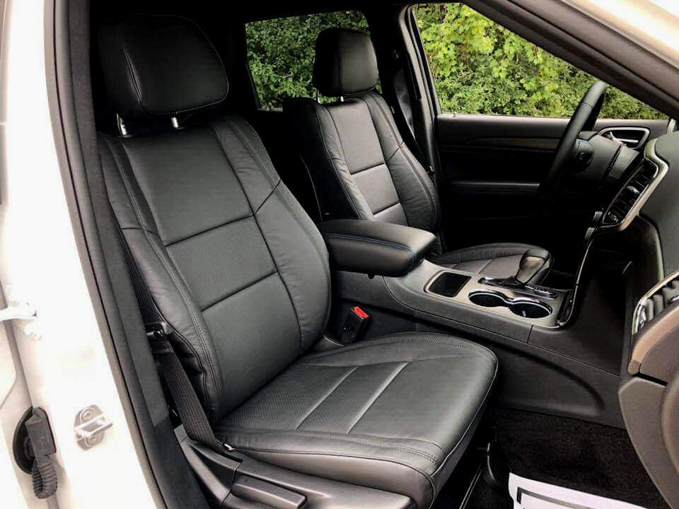 jeep grand cherokee laredo black katzkin leather interior seat cover. Cars Review. Best American Auto & Cars Review