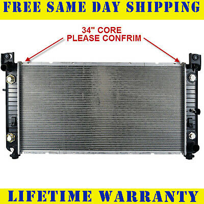 Radiator For 1999-2009 2011-2014 Chevy P/U 1500 2500 HD  V6 V8 34