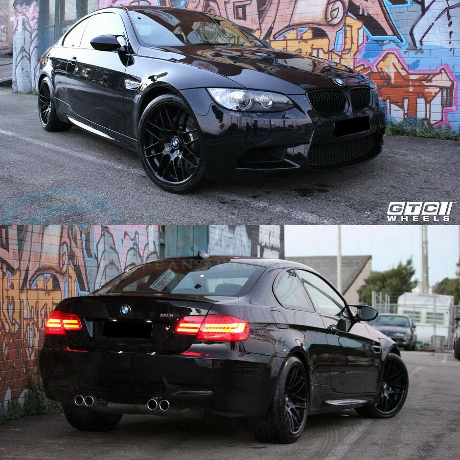 "Bmw M3 Cs: BMW 19"" GTC Wheels Matte Black GT-CS E90 E92 E92 CSL 320"