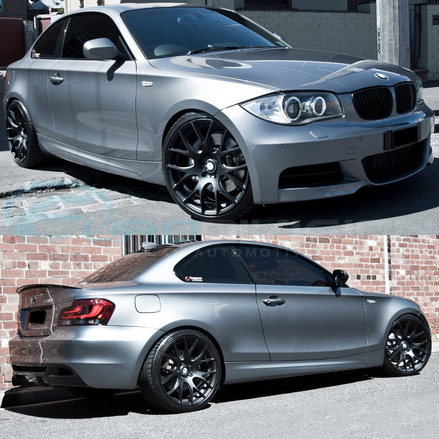 "GTC Wheels GT-CR 19"" Matte Black BMW 1 E82 E88 E87 135i"