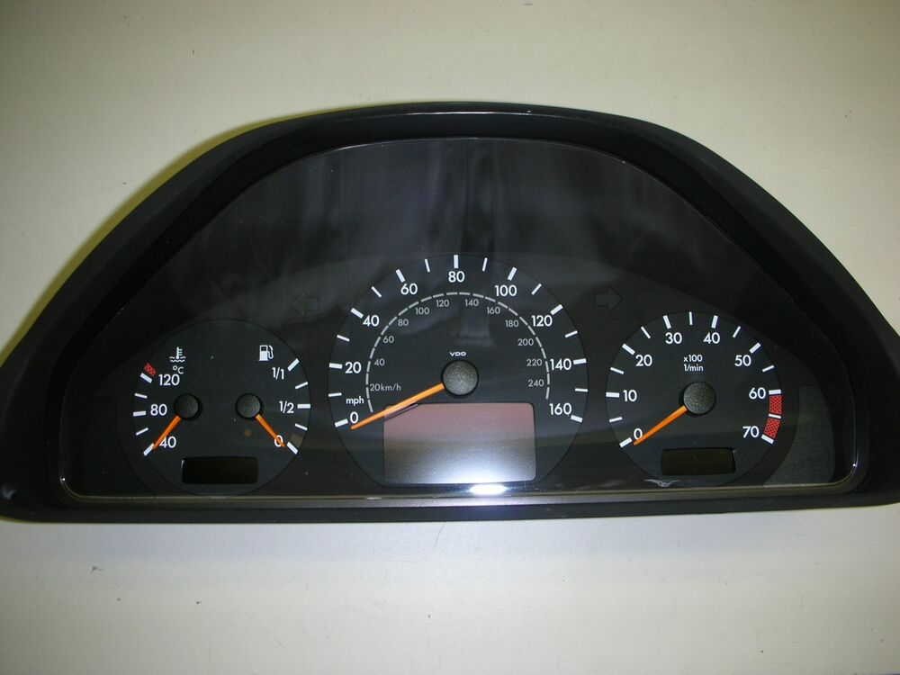 mercedes benz instrument cluster speedometer pixel repair