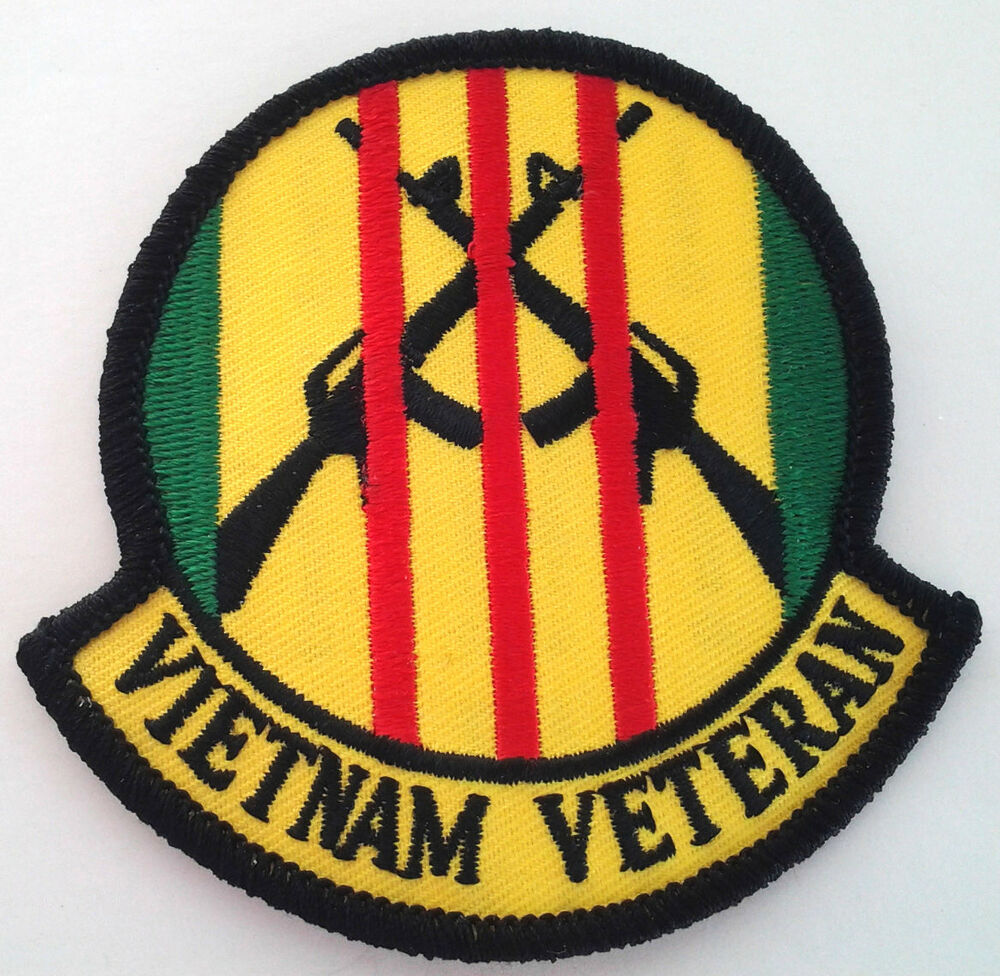 Vietnam Veteran Patch with 3 Medals Graphic - Patches ... |Vietnam Veteran Patches And Badges