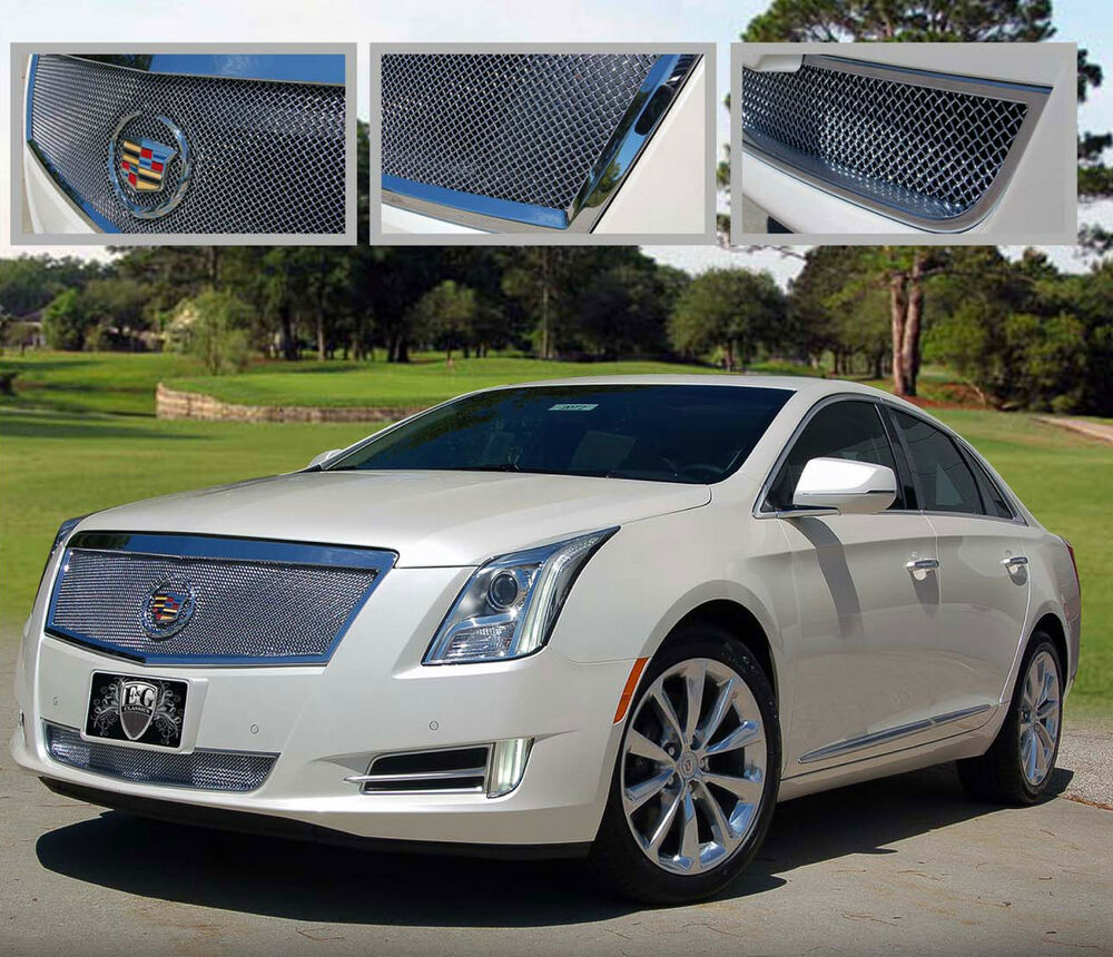2013 2014 CADILLAC XTS LUXURY 2PC FINE MESH GRILLE GRILL