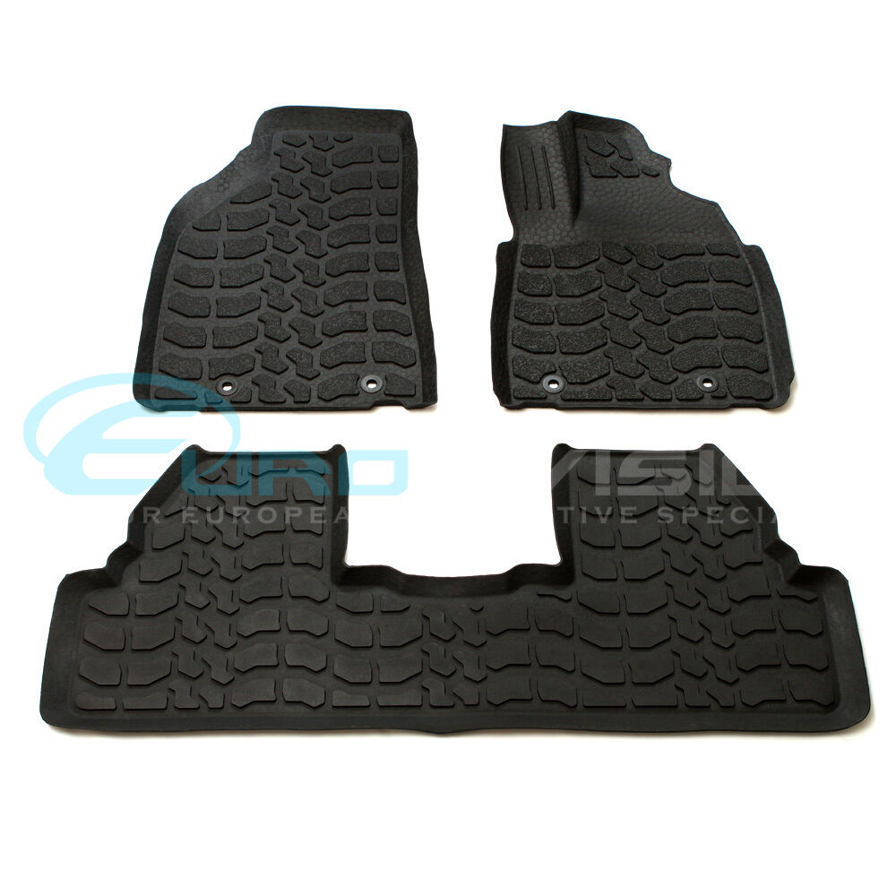 lexus rx series 2012 rubber interior floor mats rx270. Black Bedroom Furniture Sets. Home Design Ideas