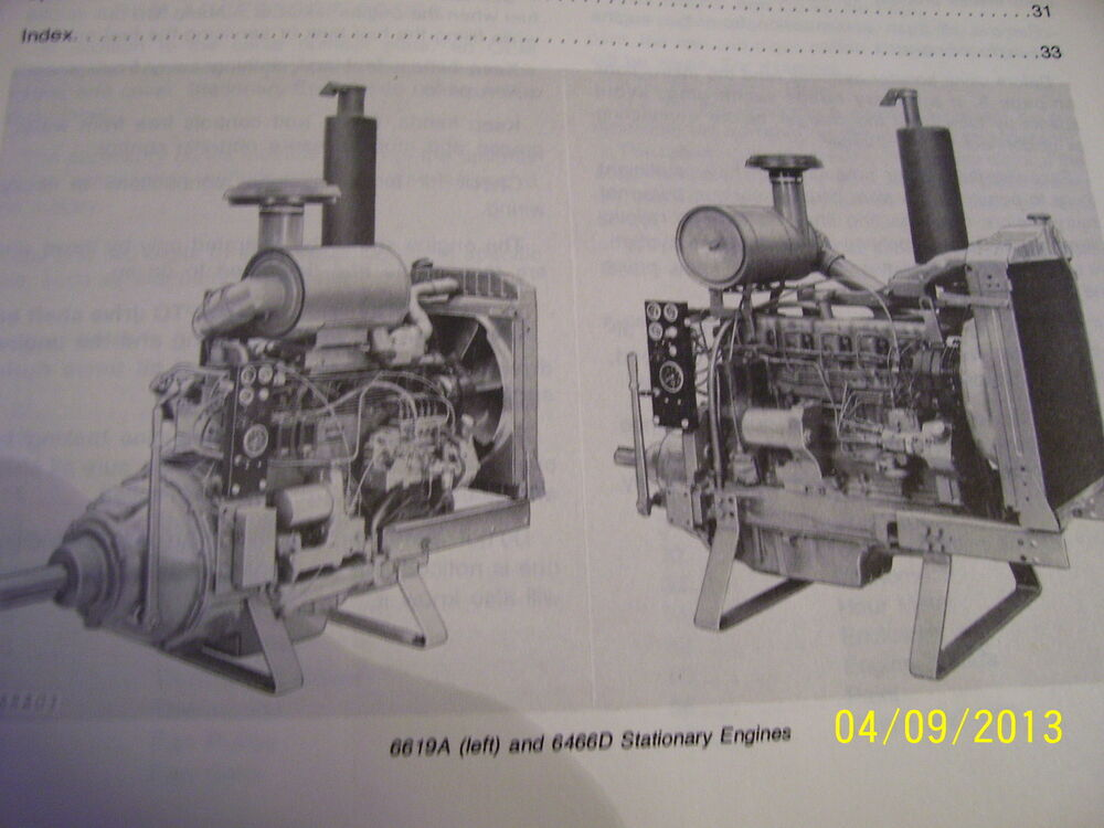 john deere x540 engine exploded schematics vintage john deere operators manual - 400 & 500 series engines | ebay john deere schematics engine 675cc #2