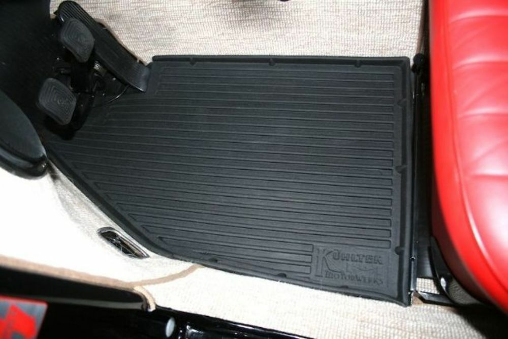 Weather Car Mats >> VW Bug Beetle Baja All Weather Floor Liner Mats All Years ...