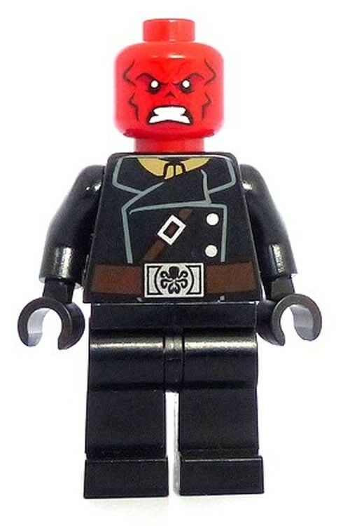NEW LEGO® Marvel™ RED SKULL 2014 Minifigure CAPTAIN ...