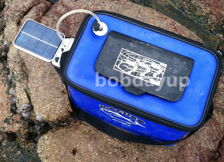 Solar Power Pond Oxygenator Air Pump Oxygen Pool Fishpond Fish Tank Pet Fishing Ebay