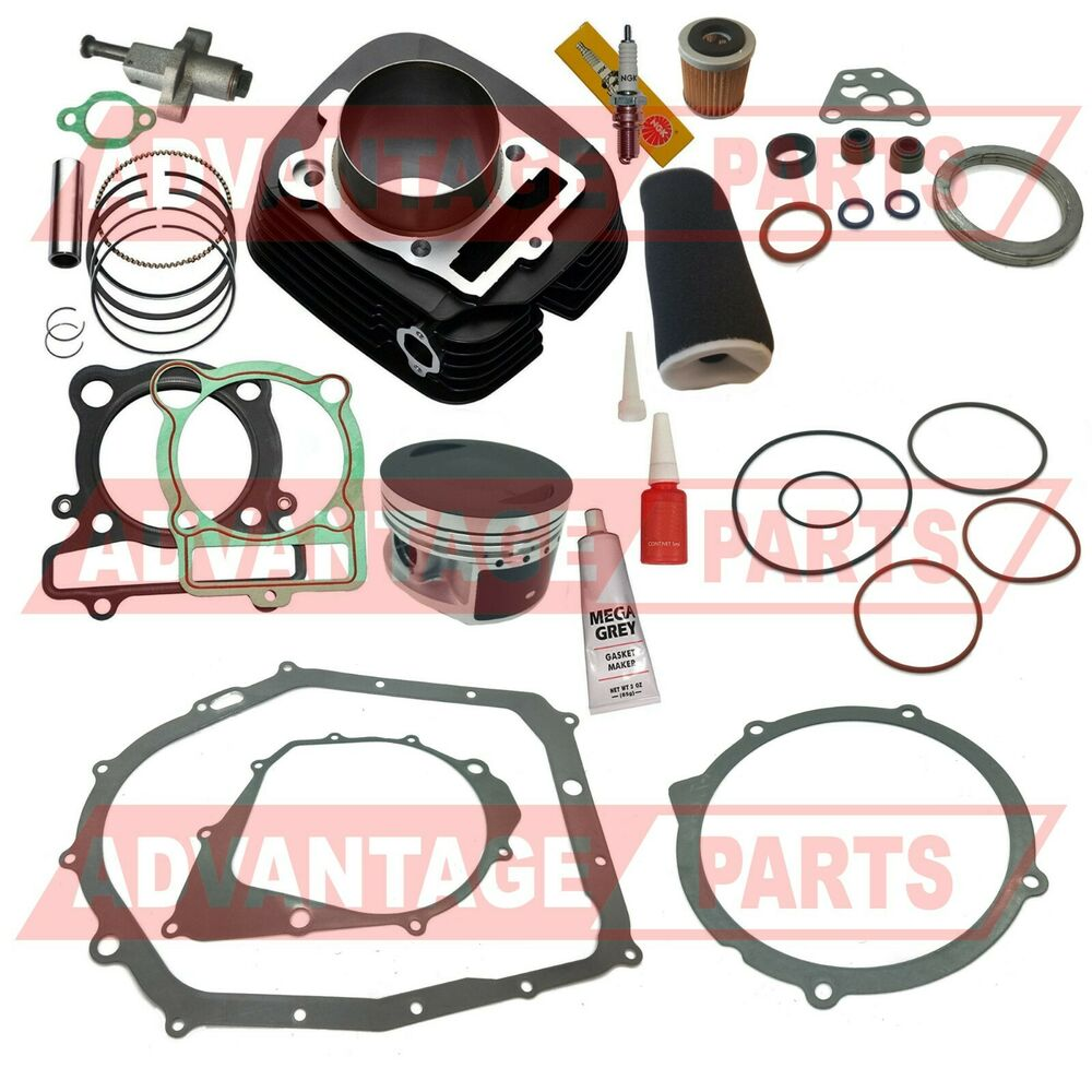 New Cylinder For Yamaha Timberwolf 250 Yfb250 Cylinder: New Yamaha BRUIN 350 CYLINDER PISTON GASKET TOP END KIT