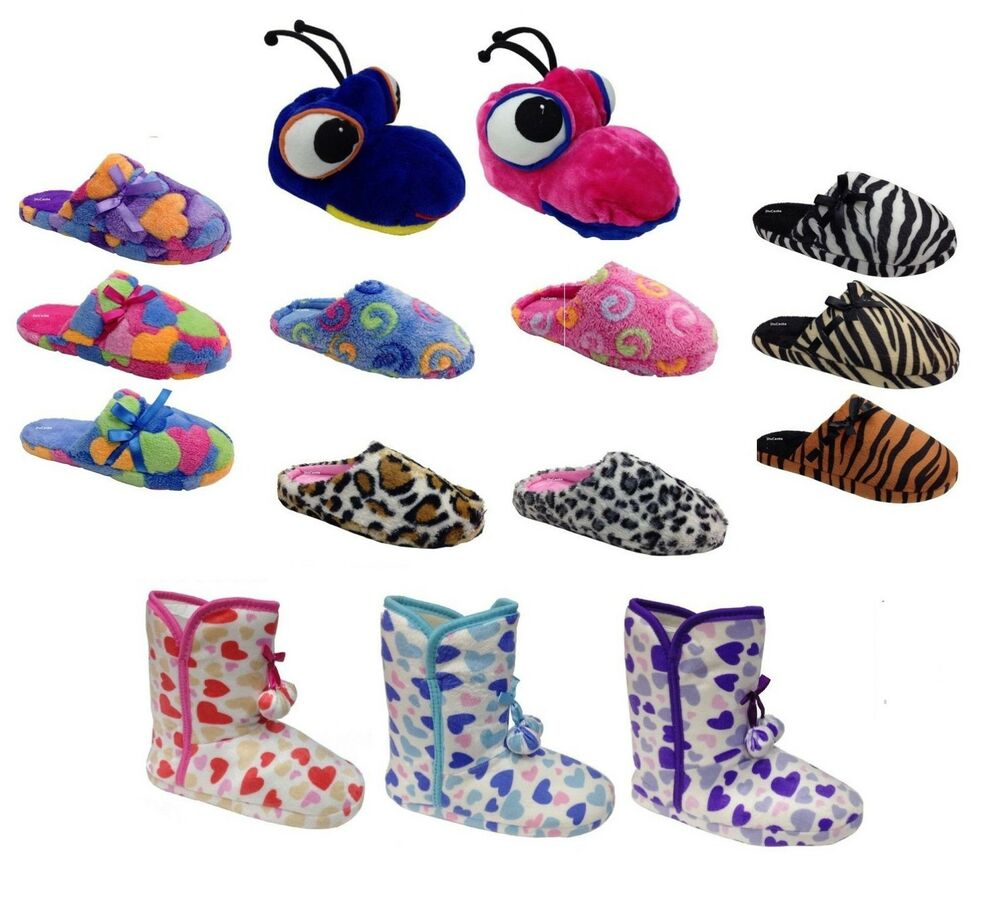 indoor boots leopard women 39 s novelty luxury bedroom slippers ebay