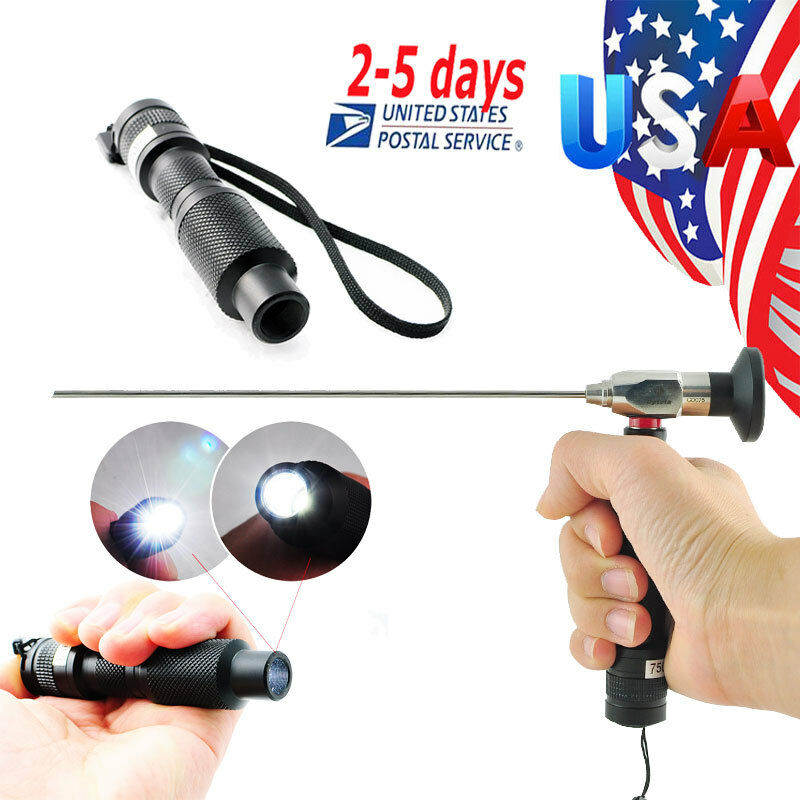 10w Portable Handheld Led Cold Light Source Connector Fit
