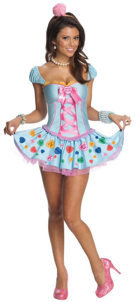 Sweetheart Candy Girl Pop Star Blue Fancy Dress Up -5104