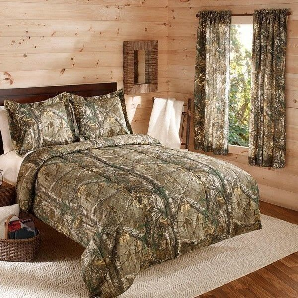 camo bedroom decor camouflage realtree bedding comforter set w shams camo 10977