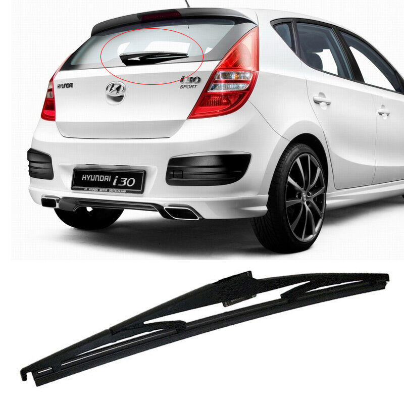 oem genuine parts rear window wiper blade for hyundai 2008 2012 elantra touring ebay. Black Bedroom Furniture Sets. Home Design Ideas