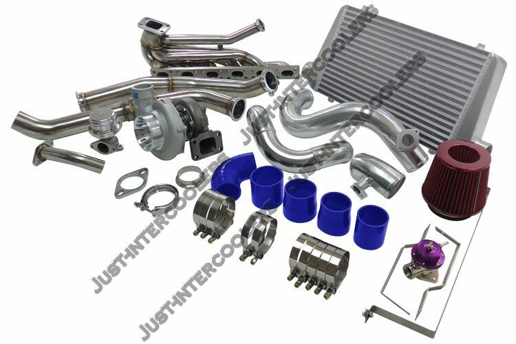 gt35 turbo kit intercooler manifold downpipe for 92 98. Black Bedroom Furniture Sets. Home Design Ideas