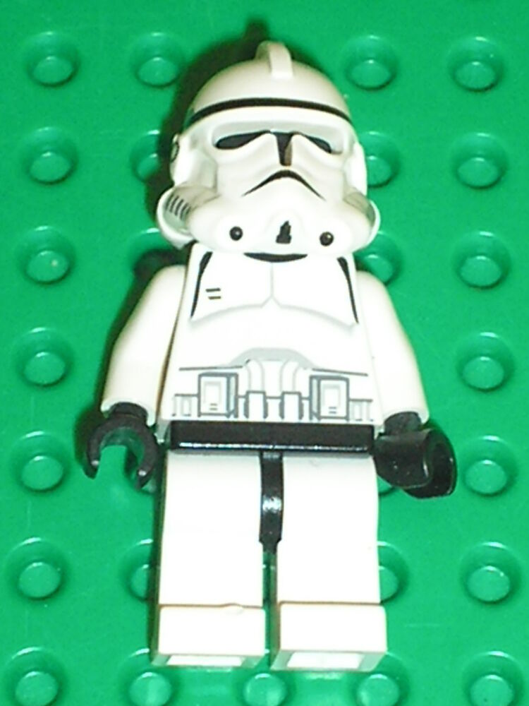 Personnage lego star wars minifig clone trooper set 7655 - Personnage star wars lego ...