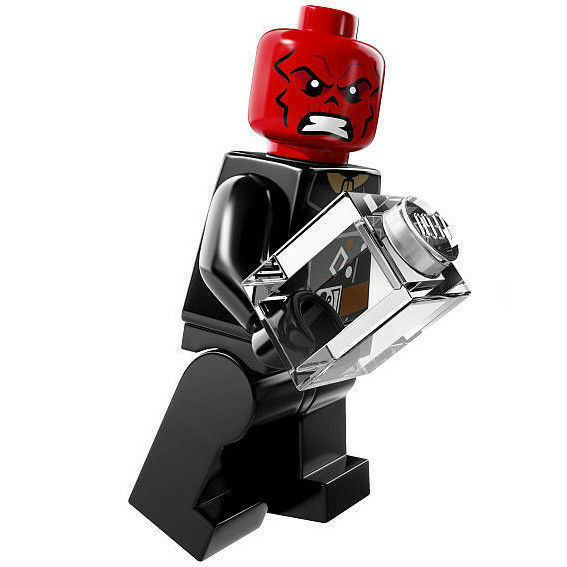 LEGO 76017 Marvel Super Heroes Red Skull Minifig ...