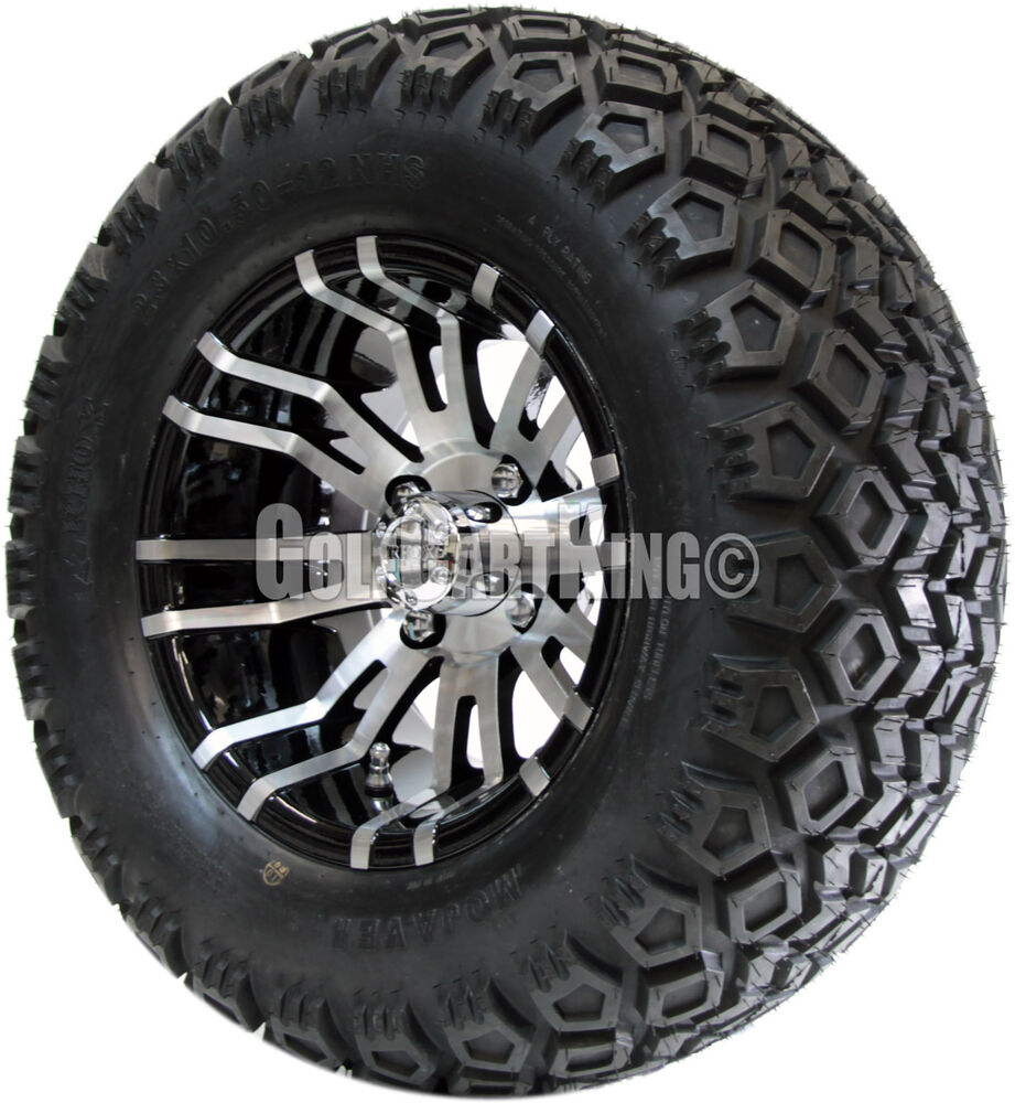 "12"" RHOX RX270 Wheel with Tire Combo and EZGO Golf Cart ..."