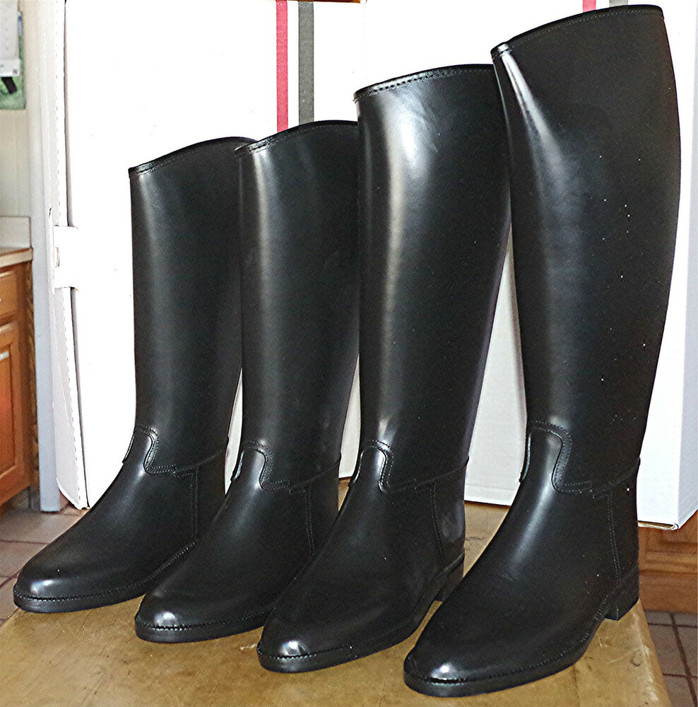 Riding Boots Synthetic Rubber Lined Cottage Craft Child 2