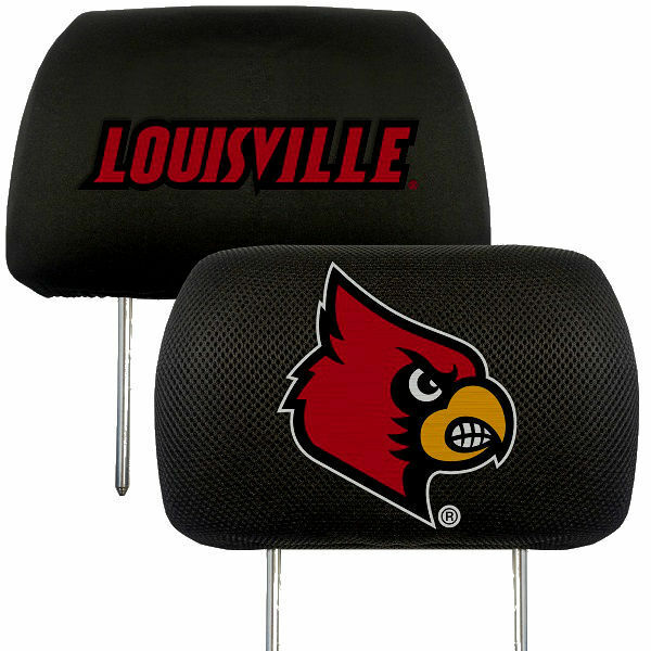 Louisville Cardinals 2-Pack Auto Car Truck Embroidered