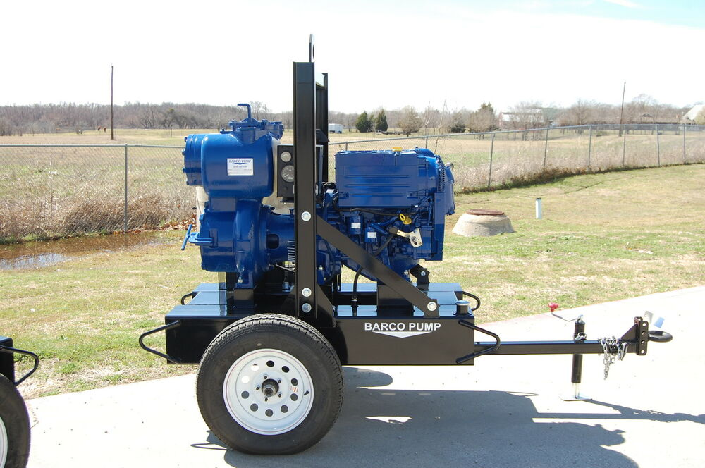 "Subaru Of Dayton >> 6"" Barco Pump trash pump w/ Gorman Rupp and Deutz engine ..."