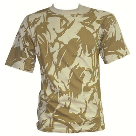 img-GENTS DESERT CAMO COTTON T-SHIRT Mens M-XL military soldier top army camouflage