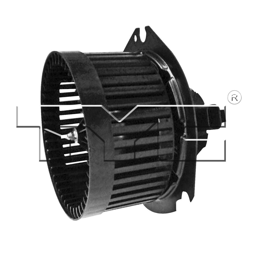 Tyc 700068 hvac blower motor ac condenser blower assembly for Car ac blower motor