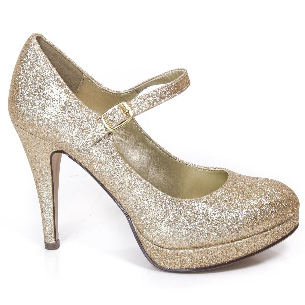 Size   Gold Or Silver Dress Shoes