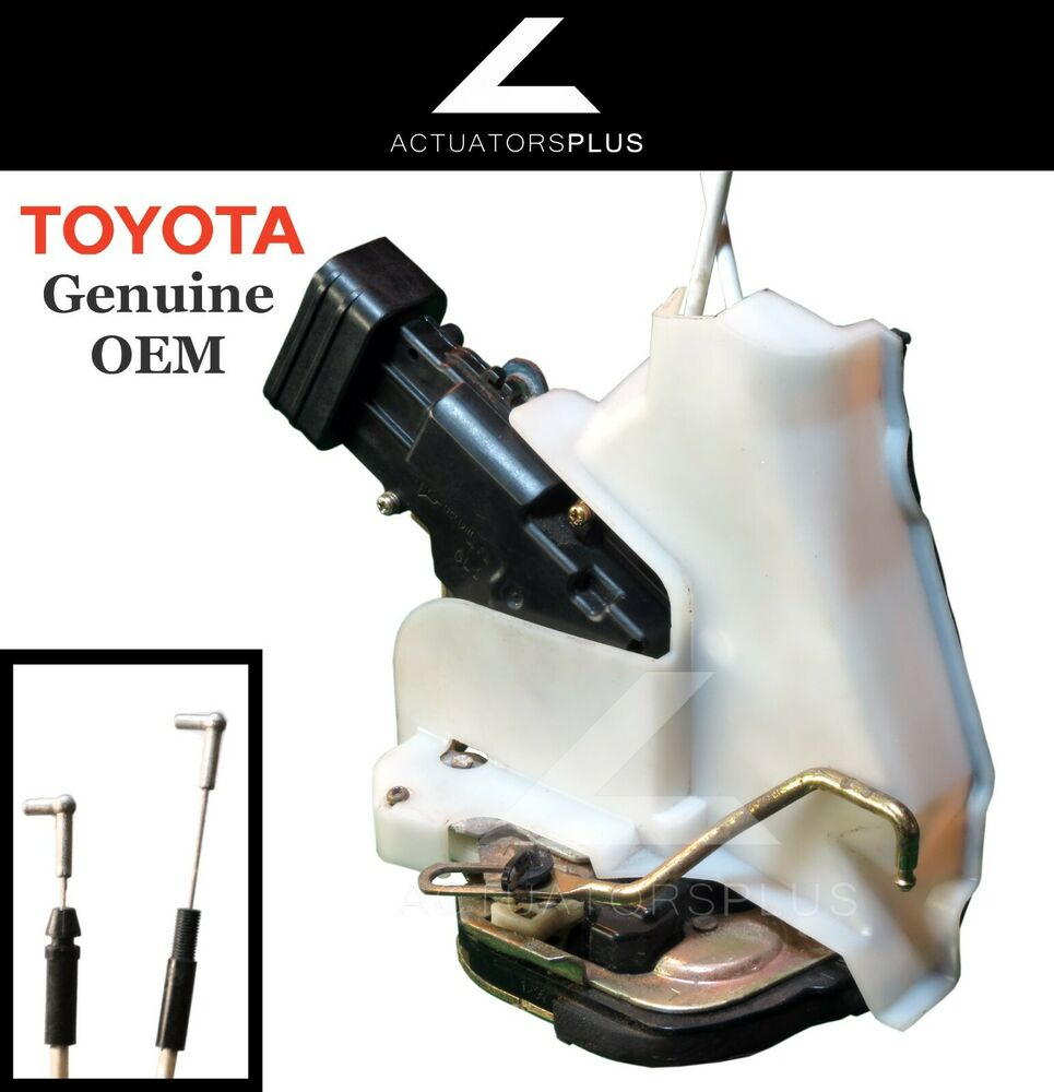 Toyota avalon rear left power door latch lock actuator 00 for 2002 toyota tundra rear window latch