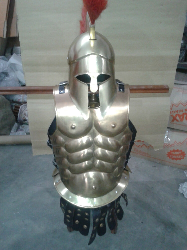 HALLOWEEN COSTUME COLLECTIBLE Muscle Armour GREEK MUSCLE ...