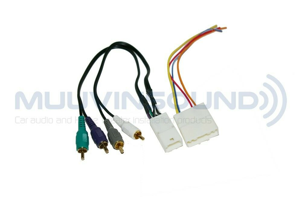 car radio wiring harness for aftermarket stereo Car Stereo Harness Installation Aftermarket Radio Harness Adapter