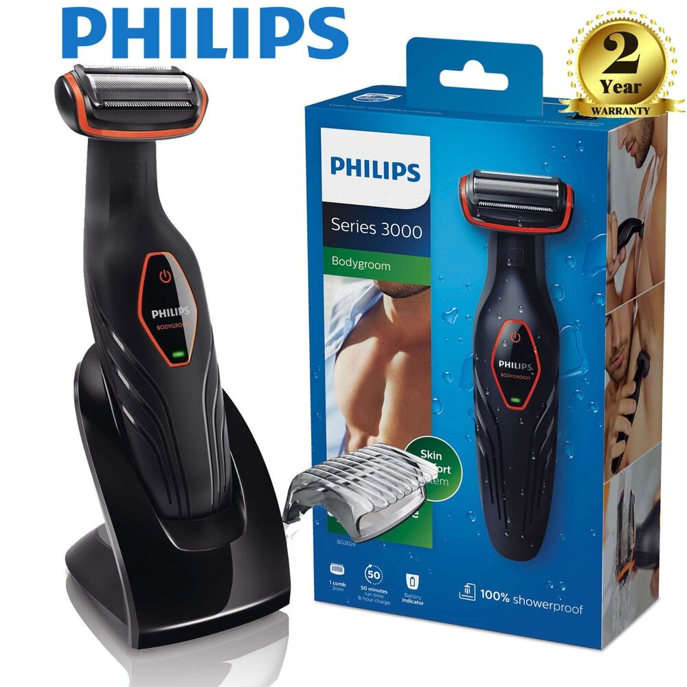 philips bg2024 15 body hair clipper trimmer shaver waterproof grooming kit ebay. Black Bedroom Furniture Sets. Home Design Ideas