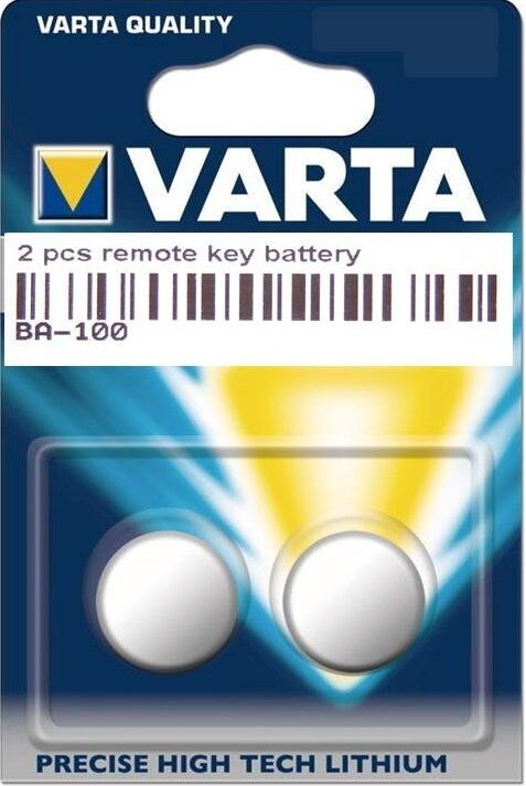 2 original varta schl ssel batterie vw passat cc phaeton. Black Bedroom Furniture Sets. Home Design Ideas