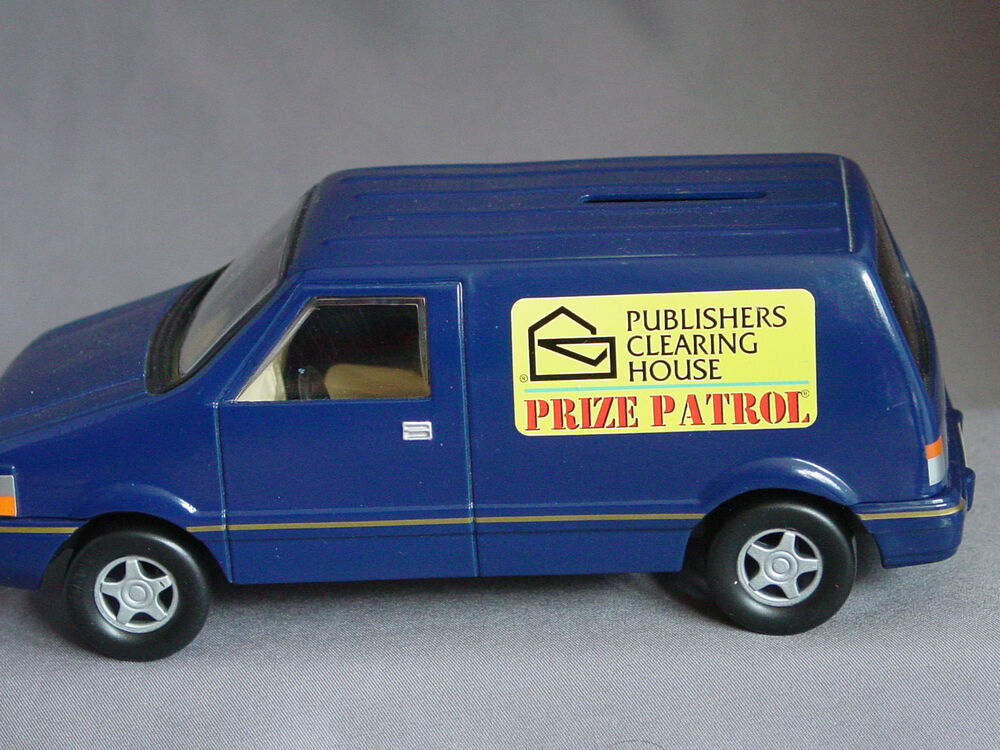 Publisher 39 s clearing house prize patrol die cast bank for Publish house