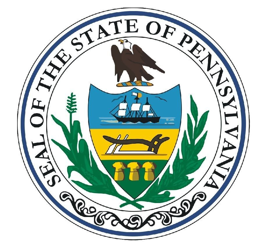 Pennsylvania State Seal Sticker Made In The Usa R555 Ebay