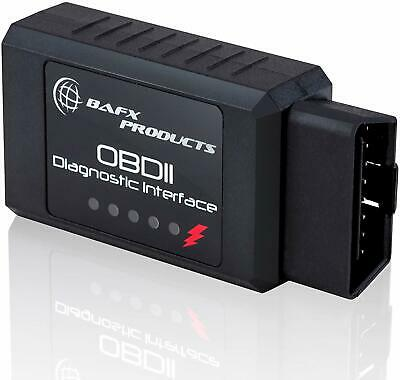 BAFX Products - Bluetooth OBD2 OBDII Car Diagnostic Code Reader Scanner Tool