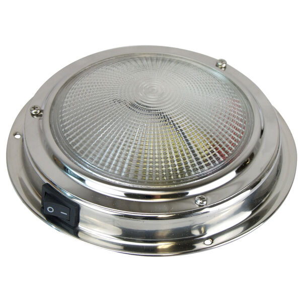 12 Volt Marine Lights: LED DOME LIGHT Super Bright LED 176 Lumens 12 Volt Boat