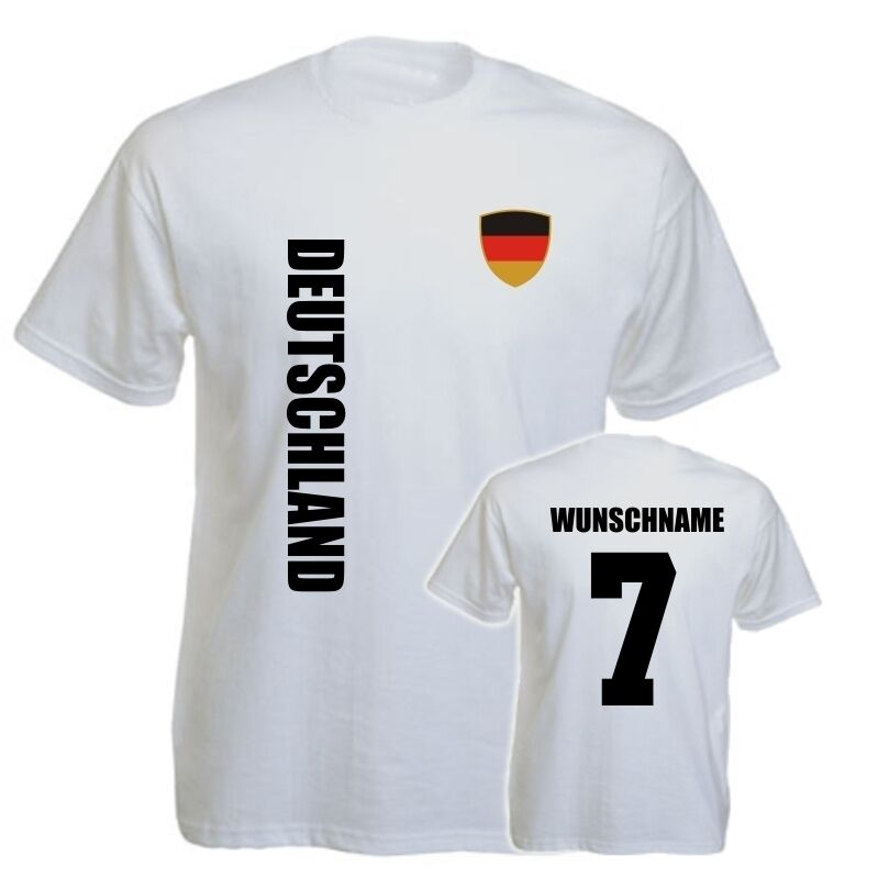 deutschland kinder baby t shirt trikot wm 2014 name. Black Bedroom Furniture Sets. Home Design Ideas