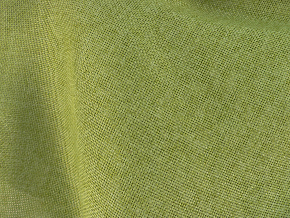 Drapery Fabric Colored Polyester Burlap Tight Weave Anti
