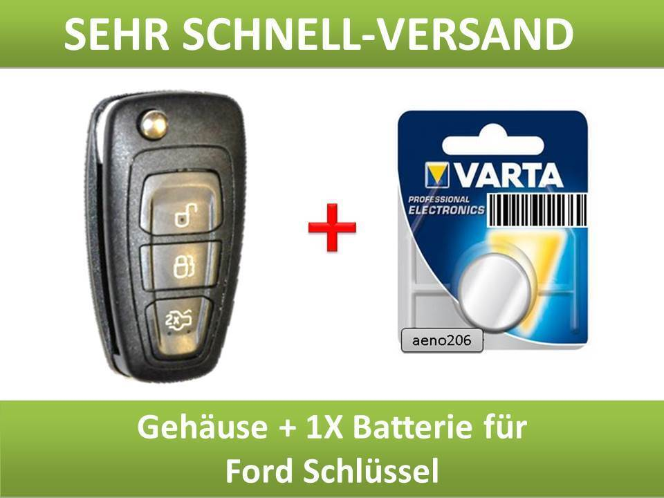 ford schl ssel geh use key button focus c max kuga s max. Black Bedroom Furniture Sets. Home Design Ideas