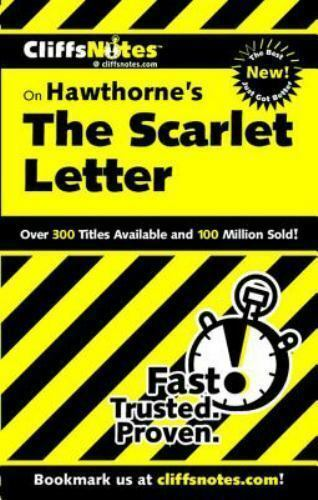 Hawthorne's The Scarlet Letter Cliffs Notes 076458605X | eBay