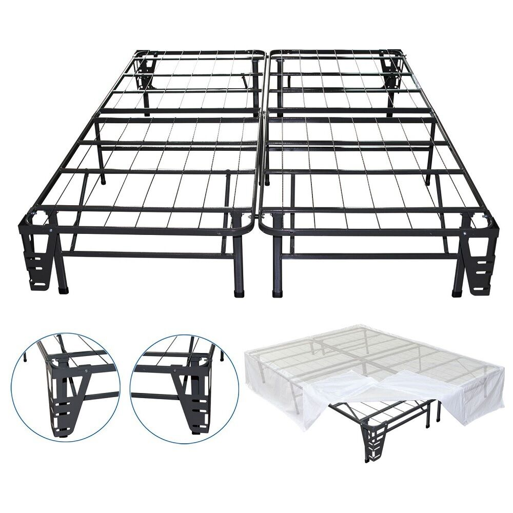 Night Therapy Smart Base Steel Bed Frame Foundation Cal